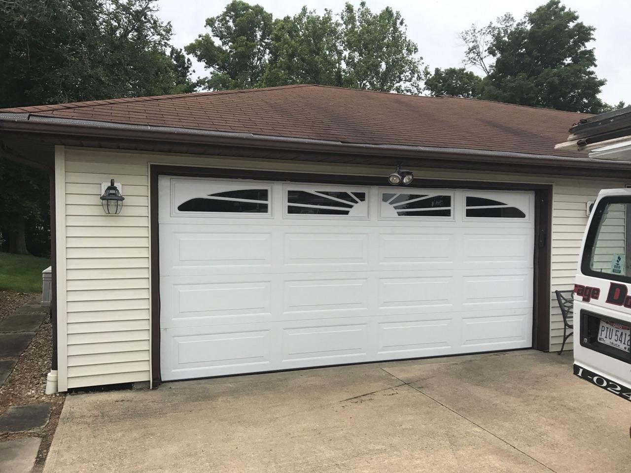 new replacement garage door by kent garage doors